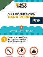PetNGo Guía de Nutrición