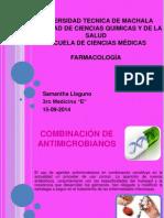 Combinación de Antimicrobianos
