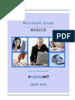 Excel Basic TOC