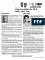 Who is the best candidate for third district supervisor?