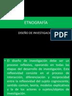 Etnografía-diseño de Investigación