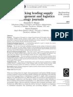 Benchmarking Leading Supply