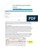 Uso de Filtros en Wireshark Para Detectar Actividad Maliciosa