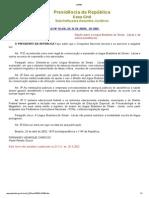 Lei 10436 de 24 de Abril de 2002 - LIBRAS