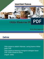 Otitis Eksterna Difus
