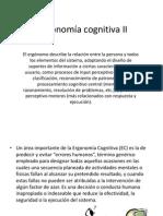 Ergonomía Cognitiva II