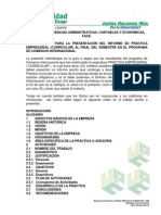 Metodologia Para Practica Curricular - Comercio Intnl.