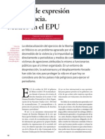 Libertad de Expresión y Democracia. México en El EPU