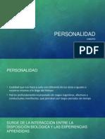 personalidad precentacion