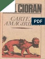 Emil Cioran-Cartea Amagirilor-Humanitas (1991)