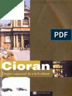 Emil Cioran-Despre Neajunsul de a Te Fi Nascut-Humanitas (2002)