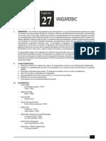 27 Vanguardismo