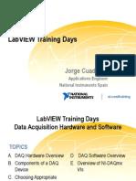 Labview Training Days Adquisicion Datos