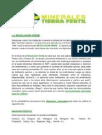 Minerales Tierra Fertil