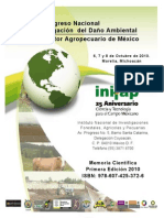 2do.congreso Nacional Mitigacion Dano Ambiental en El Sector Agropecuario de Mexico