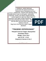 Promo Training 2014