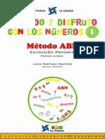 Aprendo y Disfruto Con Los Números 1- Método ABN - JPR504