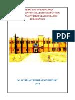 NAAC Final Report