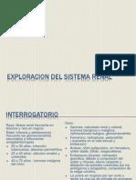 Exploracion Del Sistema Renal