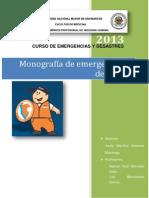 Monografia Emergencias