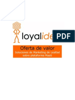 Oferta de Servicios Marketing de Lealtad