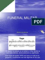 Toque de Silencio (Taps) Funeral Militar