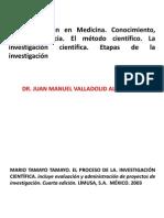 1. Investigacion en Medicina