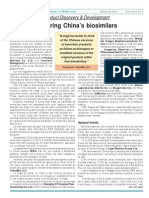 Bettering China's Biosimilars