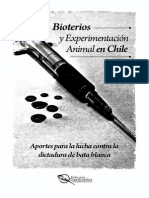 Bioterios y Experimentación Animal en Chile (Media Carta - Lectura)