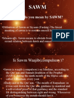 What Do You Mean by SAWM?