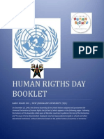 Human Rigths Day Booklet PDF
