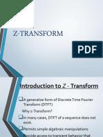 Z - Transform
