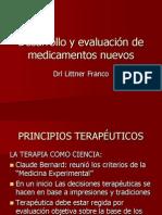 6 Desarrollo y Evaluacion de Farmacos Nuevos