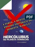 Hercolubus Ou Planeta Vermelho Rabulu a FARSA de NIBIRU