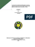 Laporan Praktikum Planktonologi Pantai Labu