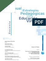 Manual Estrategias Pedagogicas Educacion Virtual