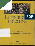 Halbwachs - La Memoria Colectiva