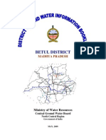 Ground Water Information Booklet Betul Dist.