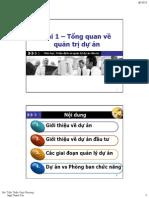 Tong Quan Ve Du An Va Cac Giai Doan Du An