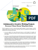 directed study - day 6 - collaborative writing blog instructions  checklist