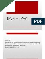 IPv4 – IPv6