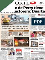 Periódico Norte edición del día 19 de septiembre de 2014