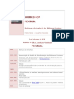 Programa sessão 2Workshop AA