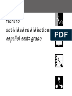 Fichero. Actividades didácticas. Español. Sexto grado.pdf