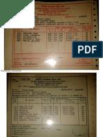 11 Mark Sheets