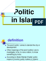 16 Politics in Islam e