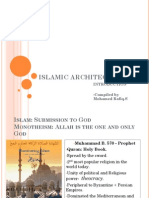 Evolution of Islamic and their architecture