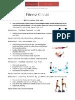 myfitness circuit acitivites