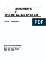 Organick a Programmers View of the Intel 432 System 1983