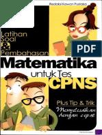 Latihan Soal Dan Pembahasan Matematika Untuk Tes CPNS